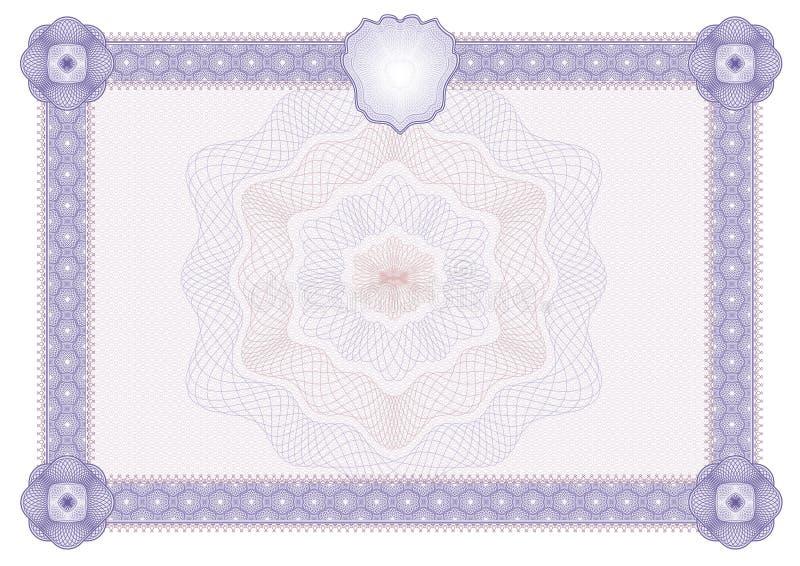 blank12 πιστοποιητικό απεικόνιση αποθεμάτων