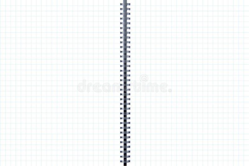 blanka linjer page sidor kvadrerade två arkivbild