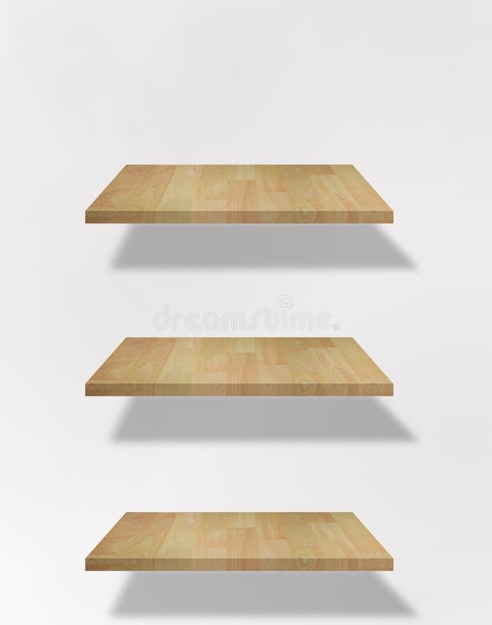blanka shelfs arkivfoto