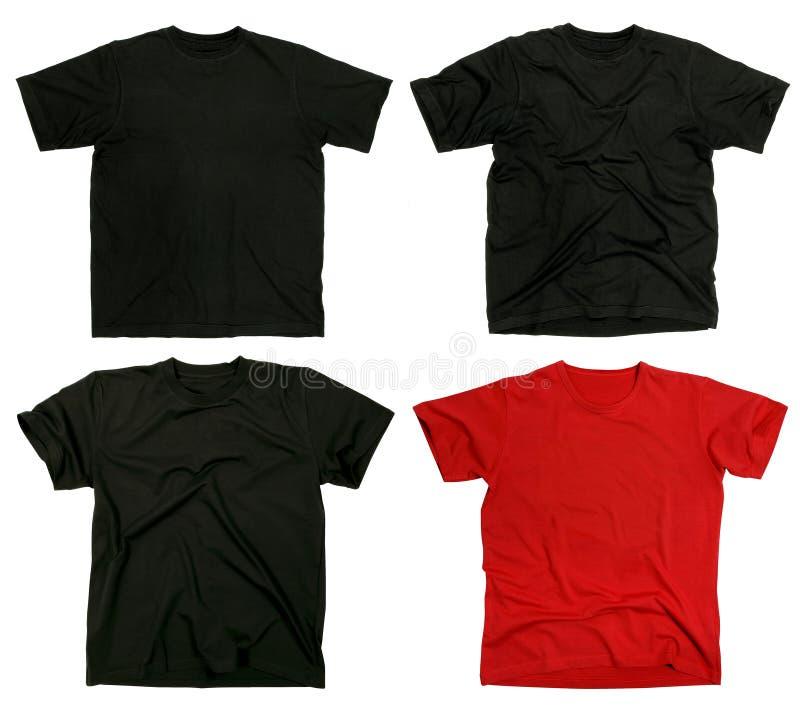 blanka skjortor t arkivbild