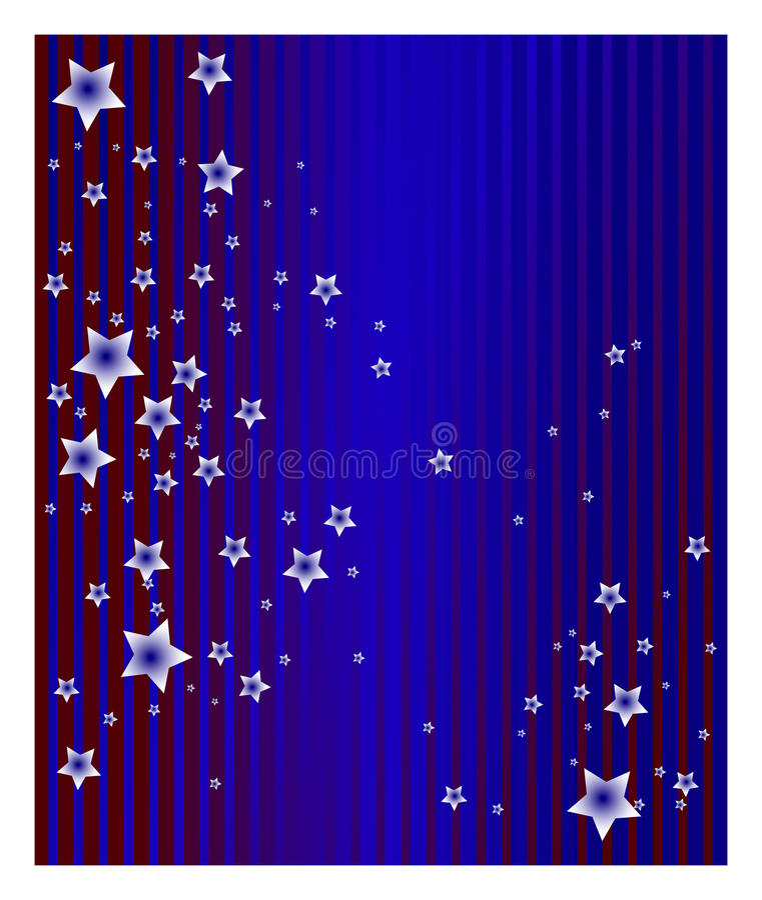 blanka stjärnor royaltyfri illustrationer