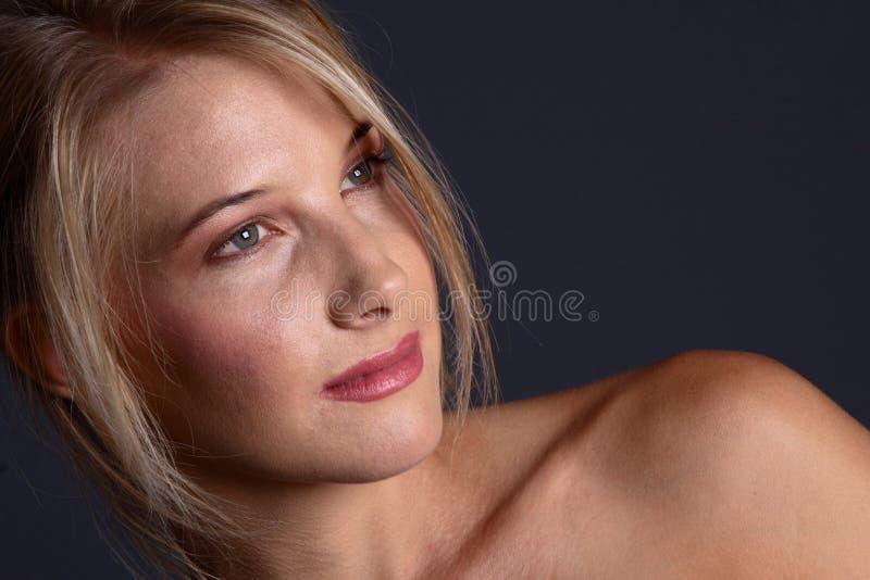 Blankes blondes lizenzfreies stockbild