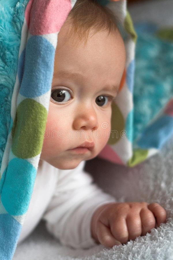 Download Blanket Baby stock image. Image of eyes, blanket, child - 1931707
