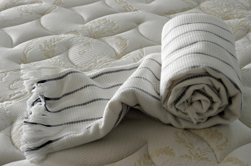 Download Blanket on bed stock image. Image of texture, mattress - 17328009