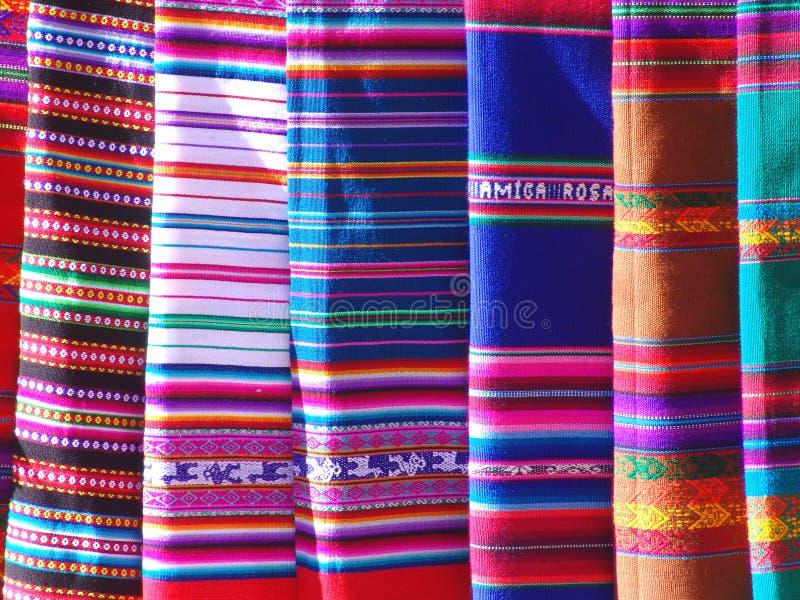 blankets цветастое стоковая фотография