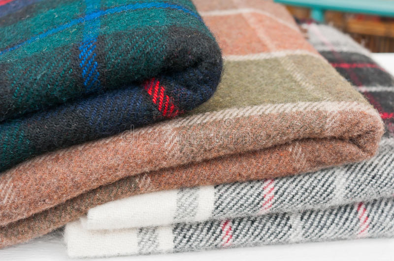 Blankets royalty free stock photography