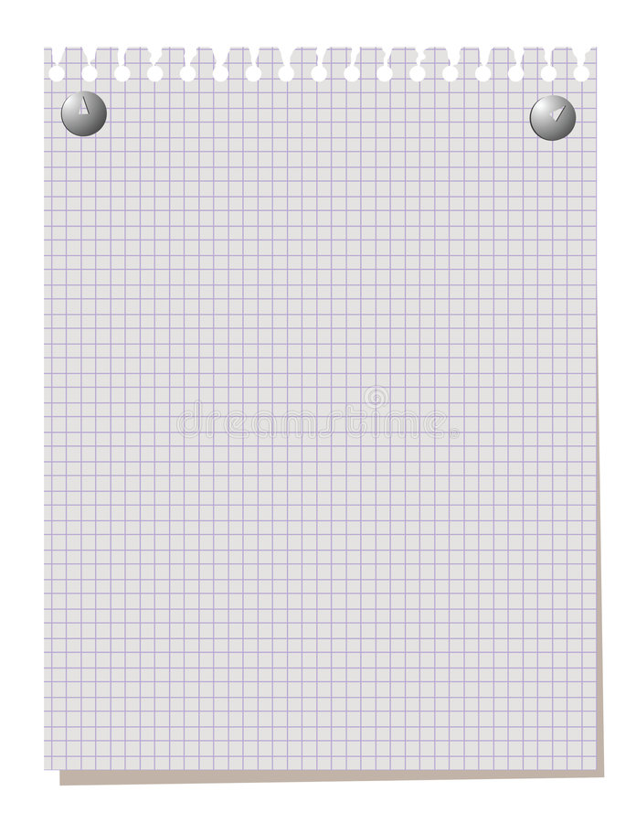 blankt anmärkningspapper vektor illustrationer