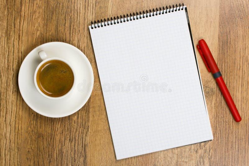 blankt blockpapper royaltyfri bild