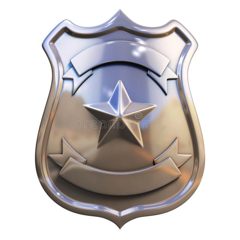 Blankt emblem vektor illustrationer