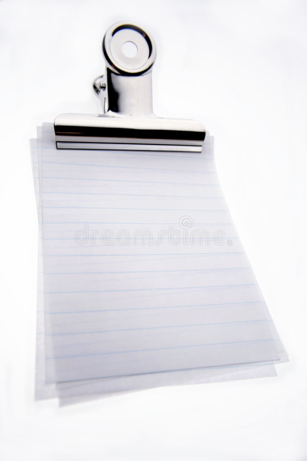 blankt gem fodrade papperen arkivbild