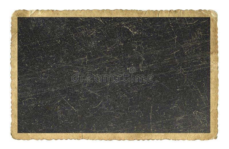Blankt isolerat tappningfotopapper arkivbilder