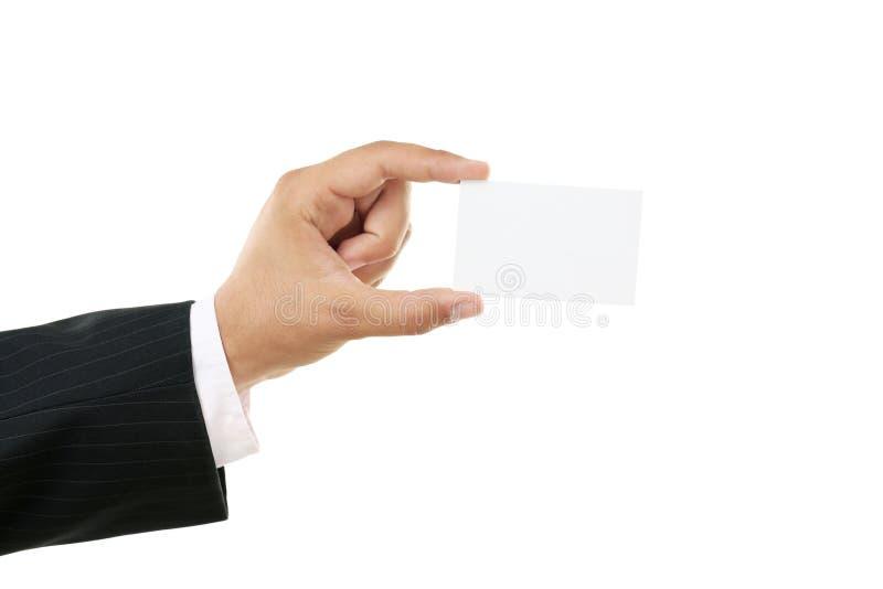 blankt kort arkivfoton