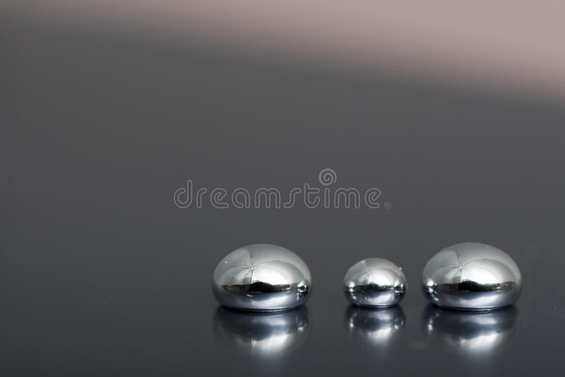 blankt kvicksilver royaltyfri fotografi