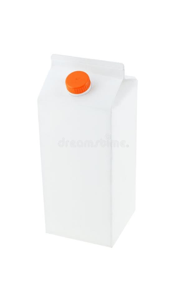 blankt lådapapper royaltyfri foto
