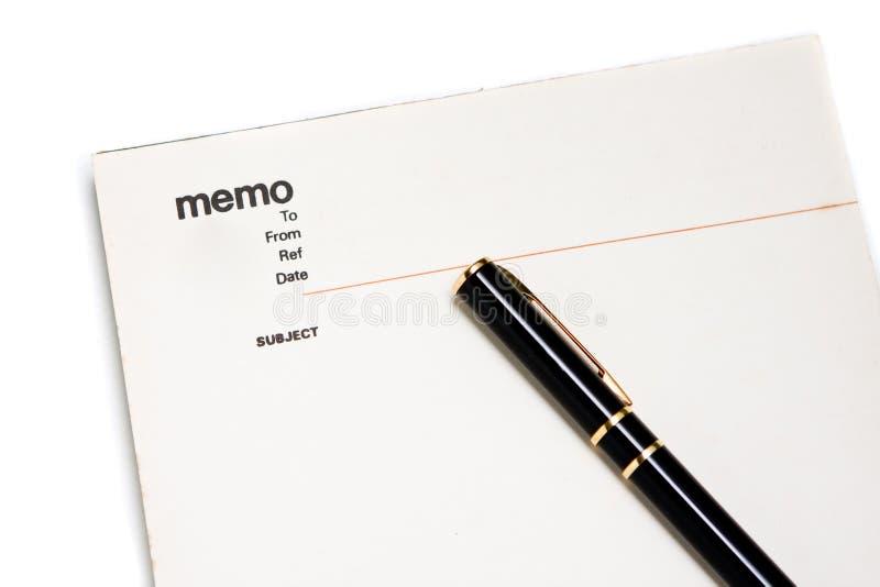 blankt memoanteckningsbokblock arkivbild