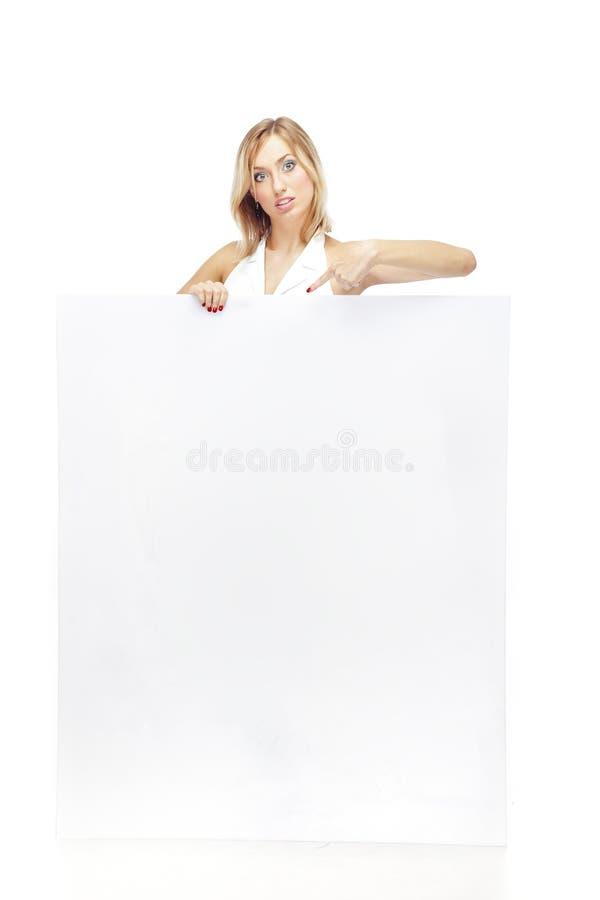 blankt tecken fotografering för bildbyråer