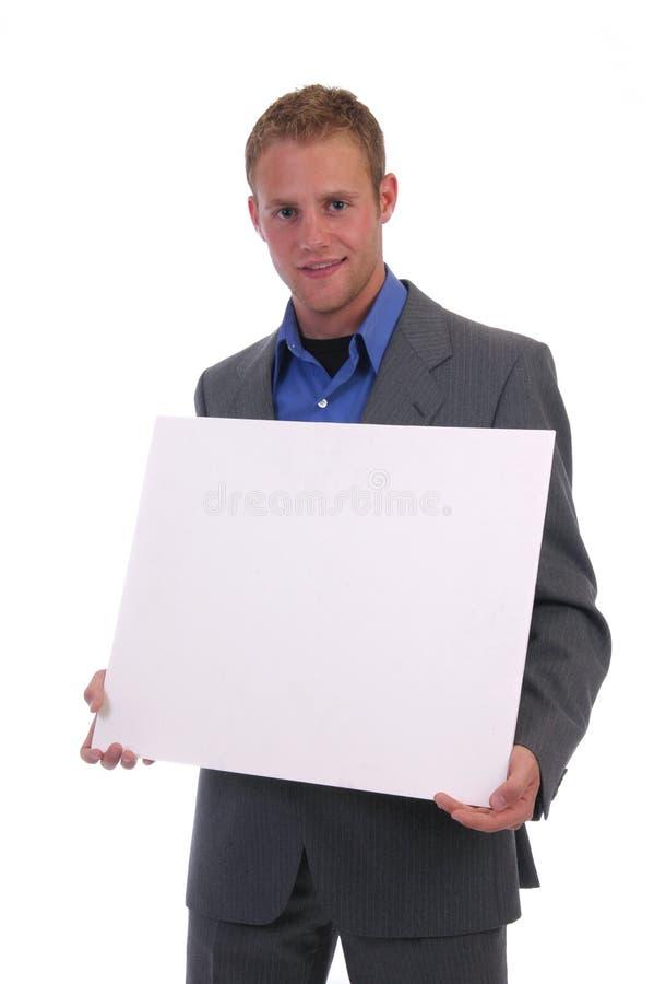 blankt tecken arkivfoto
