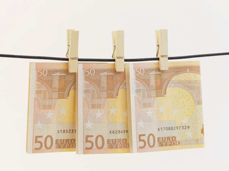 Blanqueo de dinero imagen de archivo libre de regalías