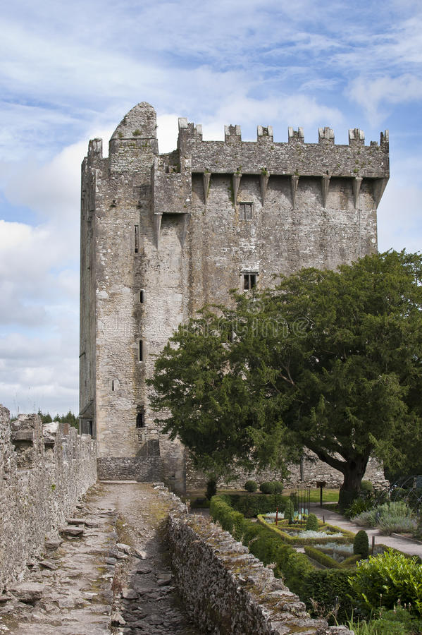 Download Blarney castle stock image. Image of garden, republic - 26417919