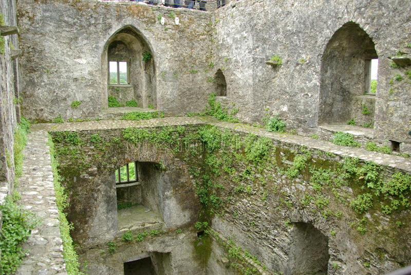 Blarney castle, ireland stock photography
