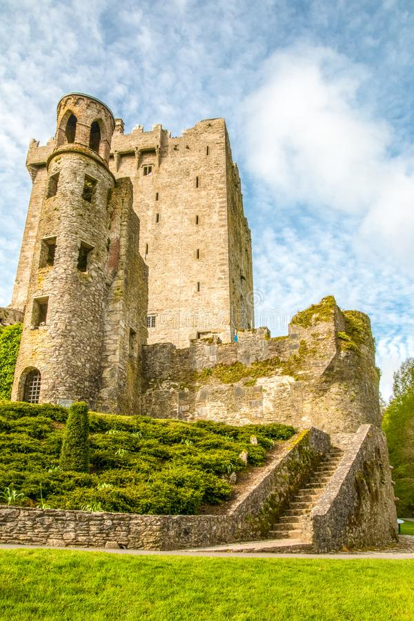 Blarney Castle Tower royalty free stock photography