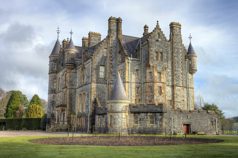 Download Blarney House, Ireland. stock photo. Image of blarney - 18427460