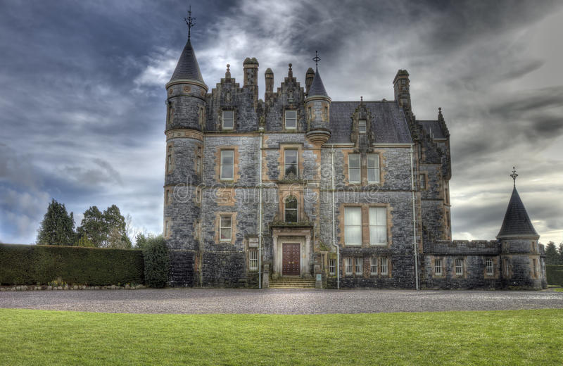 Download Blarney House, Ireland - Hdr Image. Stock Image - Image: 18873839