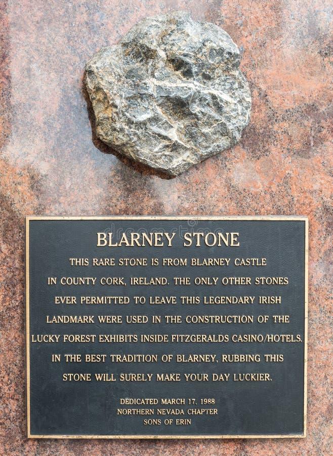 Blarney Stone stock photo