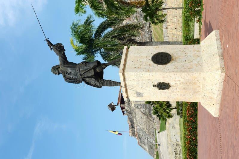 Blas de Leso Monumento a Cartagine immagini stock