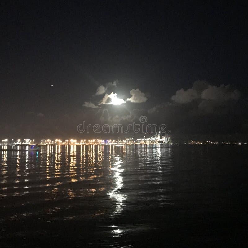 Blask księżyca & bimber obrazy royalty free