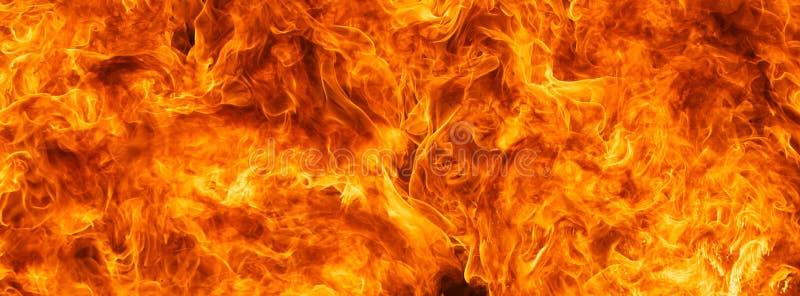 Blasku ogienia płomienia tekstury tło fotografia stock