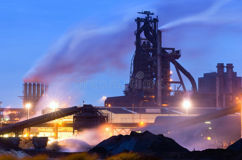 Blast Furnace royalty free stock images