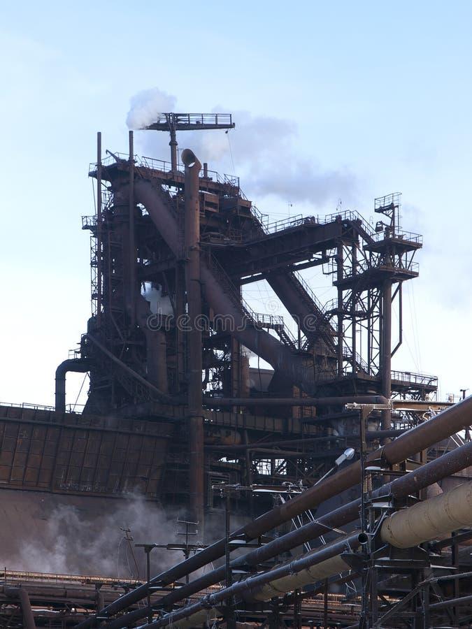 Blast furnace royalty free stock photos