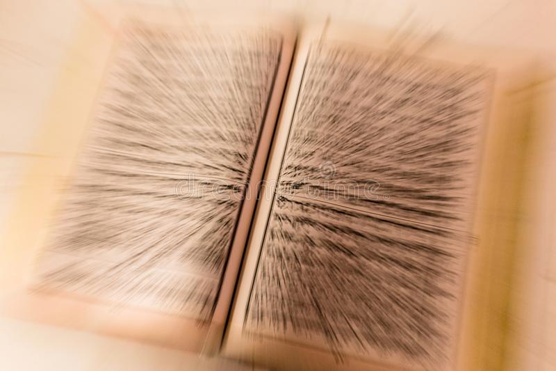 Blast zoom School book For Religion Islam stock photos