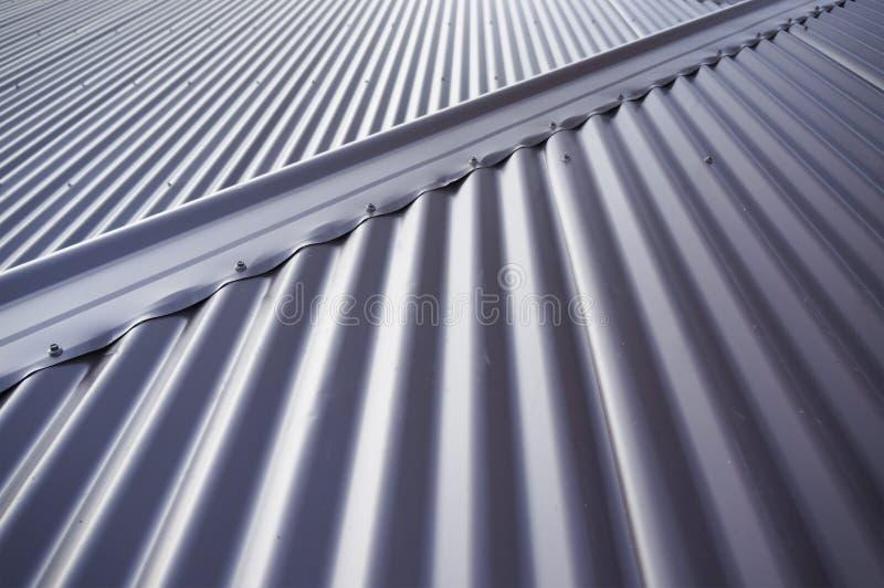 Blaszany dach zdjęcie stock