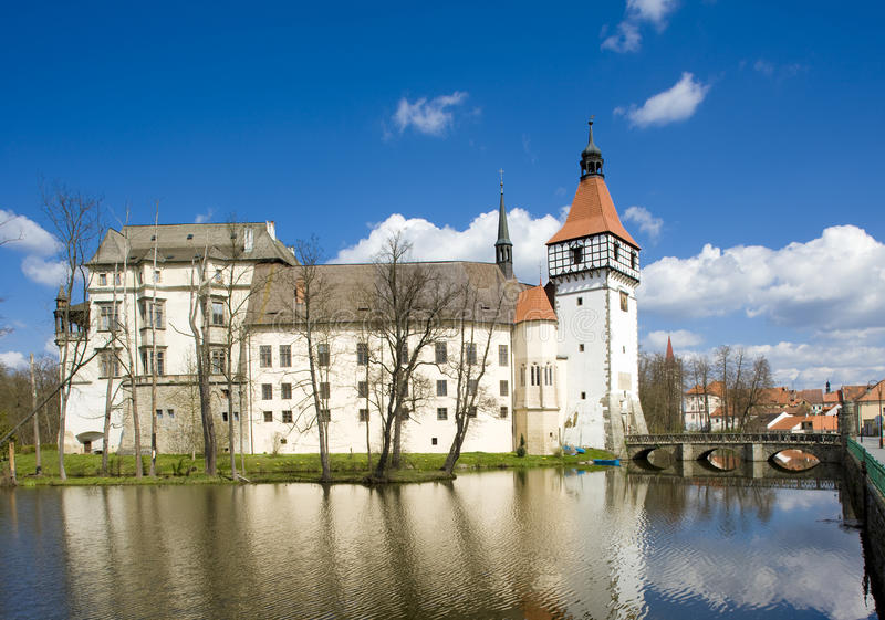 Blatna Castle stock image
