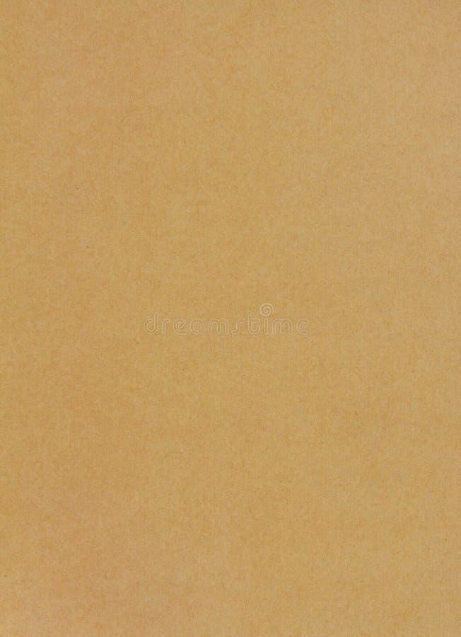 Blatt des Hintergrundes des braunen Papiers stockfoto