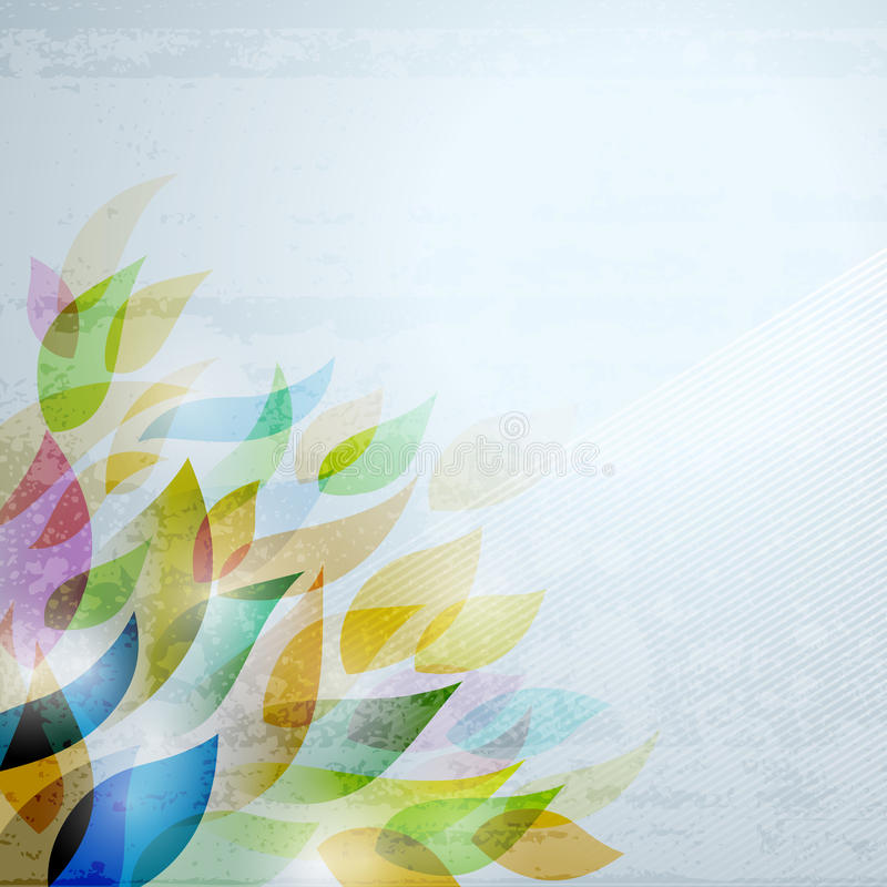 Blatt-Hintergrund stock abbildung