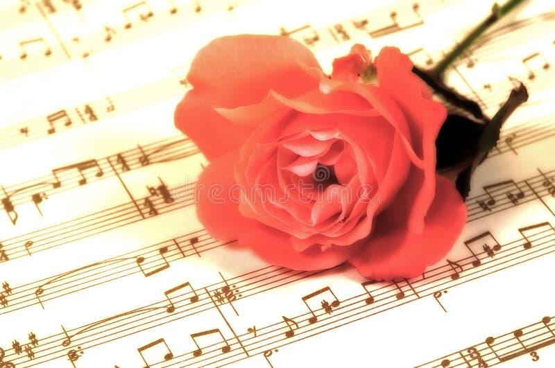 Download Blatt-Musik stockbild. Bild von stieg, stamm, romanze, anmerkungen - 35853