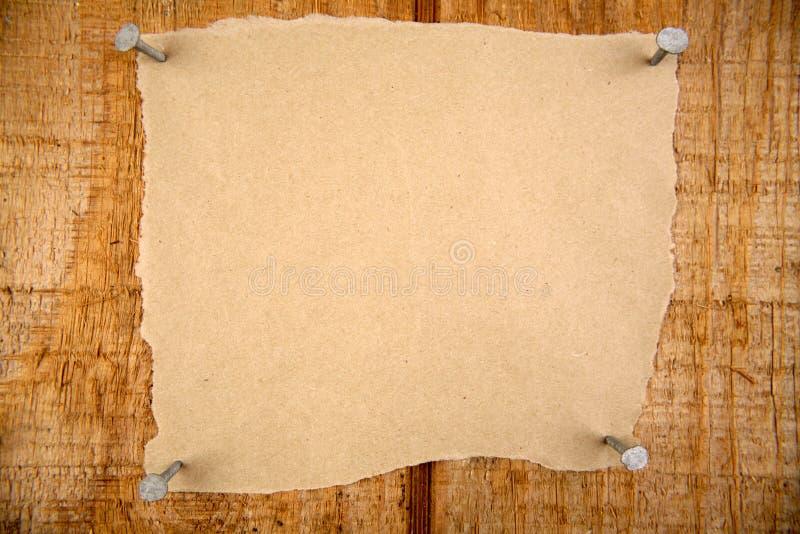 Download Blatt Papier stockbild. Bild von papier, plakat, gemasert - 9095211