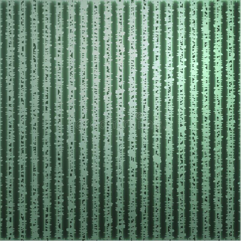 Blatt Papier mit einem strukturierten Hintergrund. stock abbildung