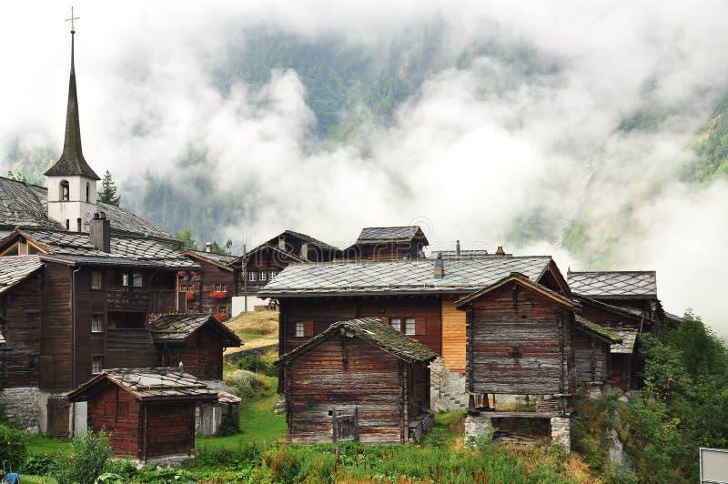 Download Blatten Swiss Alpine Village Naters Valais Switzerland Stock Image