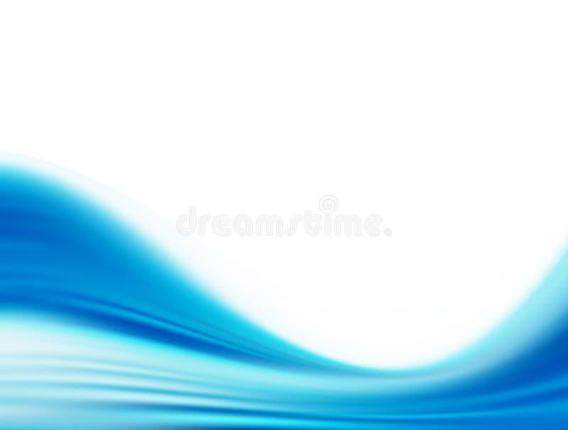 Blau vektor abbildung