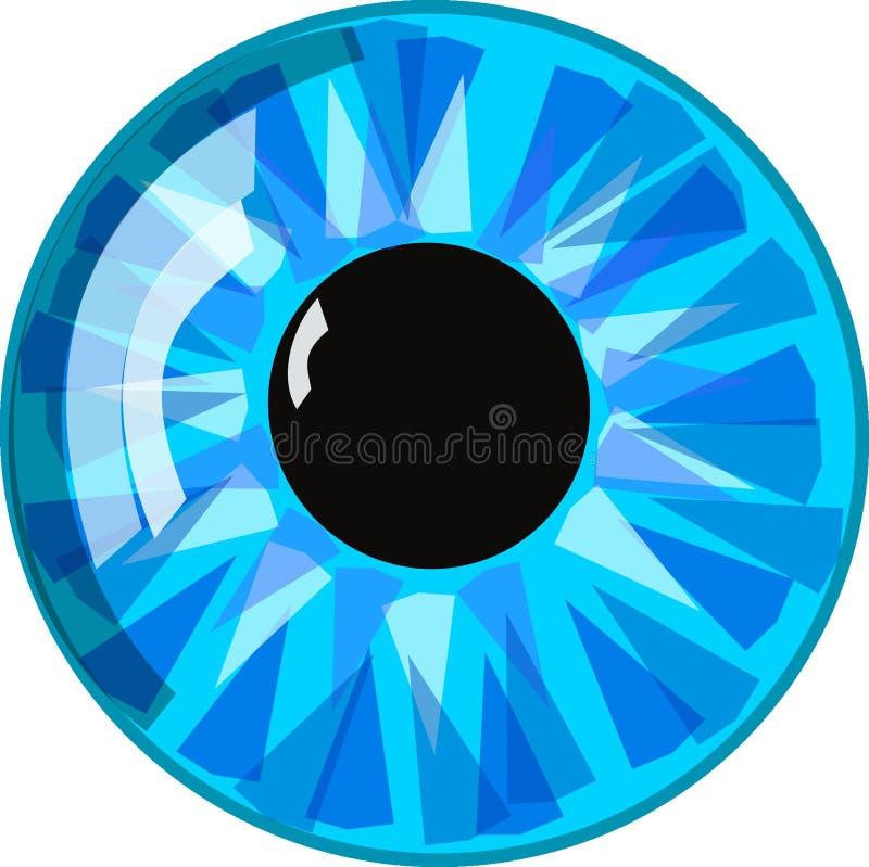 Blau, Aqua, Kreis, Auge lizenzfreies stockbild