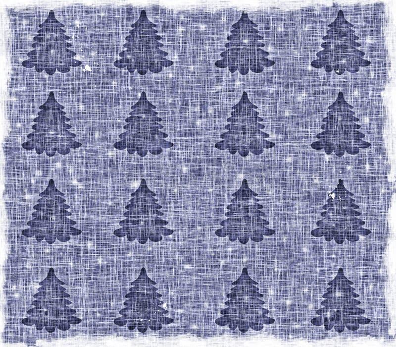 Download Blau, Ein Weihnachtshintergrund Stock Abbildung - Illustration von wiederbelebung, segeltuch: 12200699
