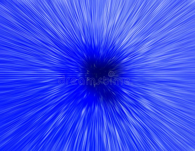 Blau-Explosion vektor abbildung