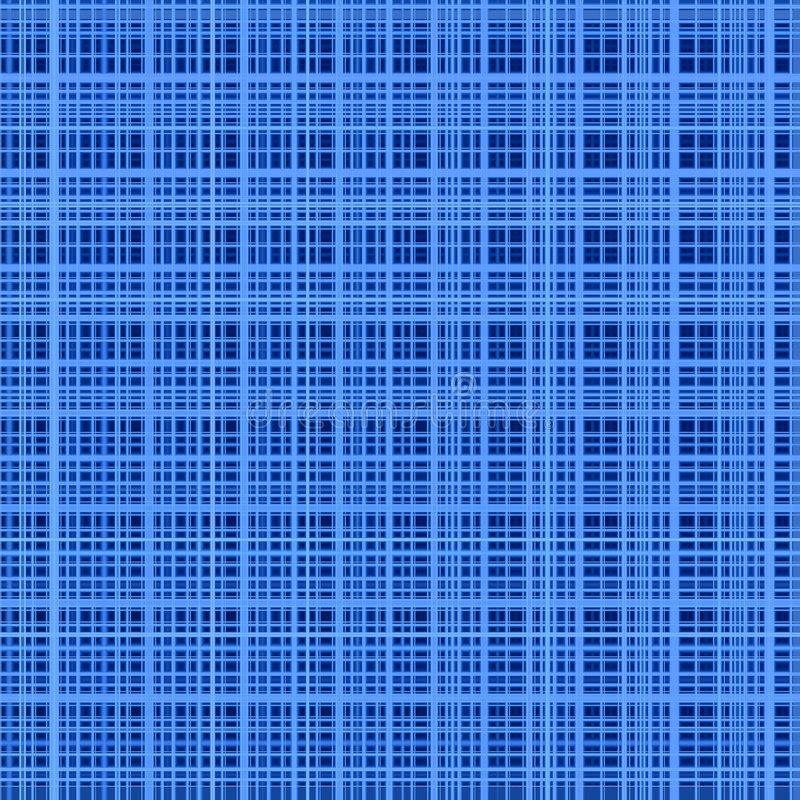Blau färbt abstrakten Rasterfeldhintergrund. vektor abbildung