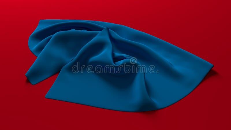 Blau, rot, Kobalt-Blau, Aqua lizenzfreie stockfotos