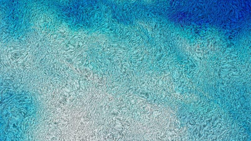 Blau und Grey Wool Texture stock abbildung