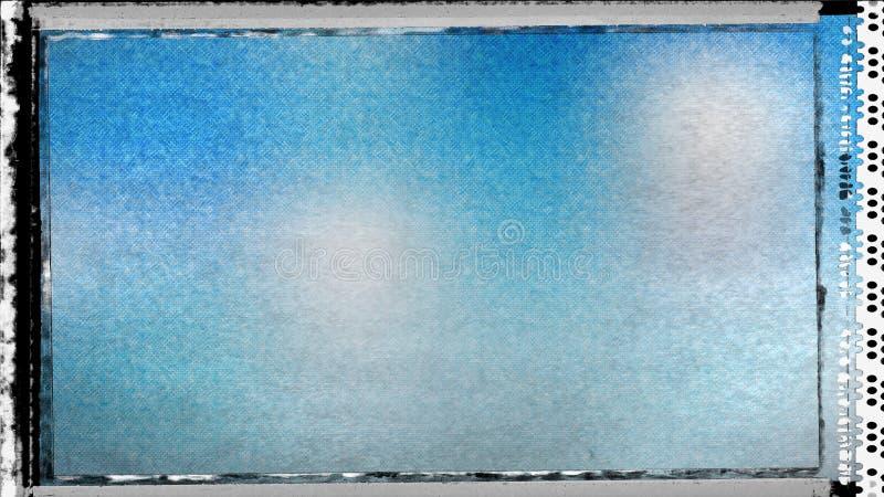 Blau und Hintergrund Entwurf der grafischen Kunst der Grey Dirty Grunge Texture Background-Bild-schöner eleganter Illustration lizenzfreie abbildung